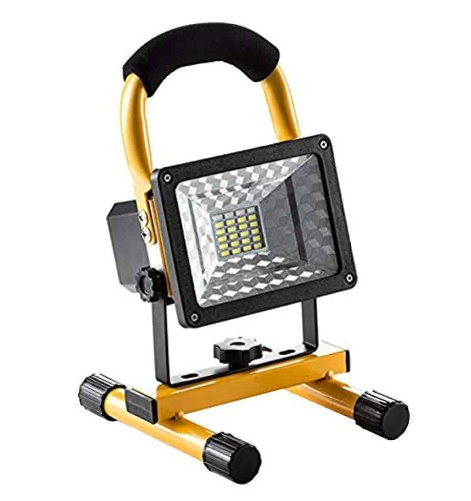 Portable LED Work Light with USB Port