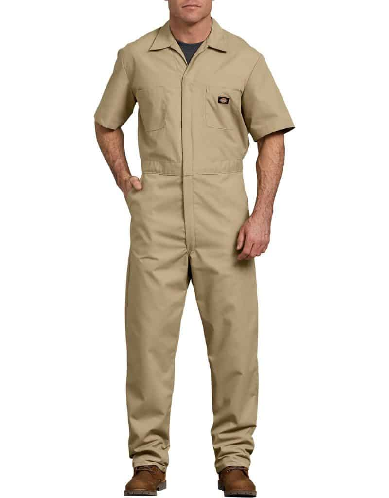 best short sleeve overalls for men