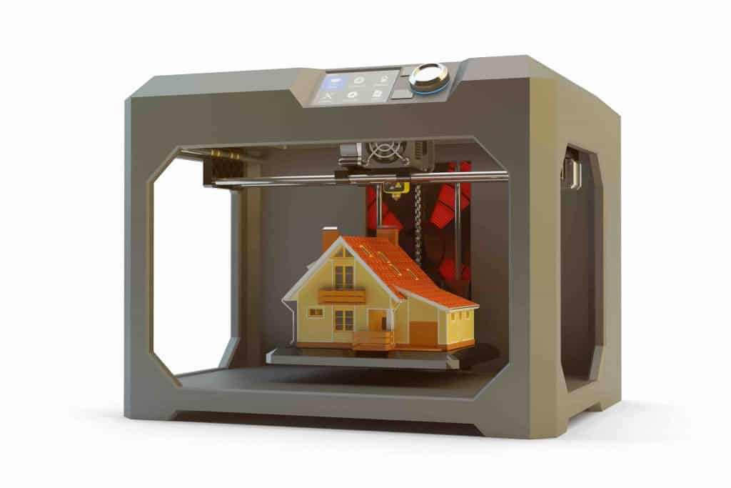 3d printed houses for construction industry