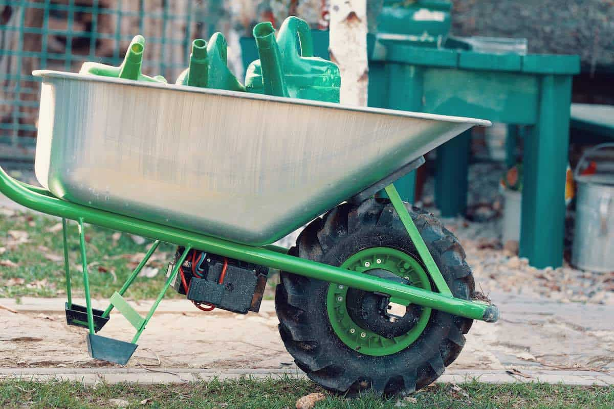 best powered wheelbarrow