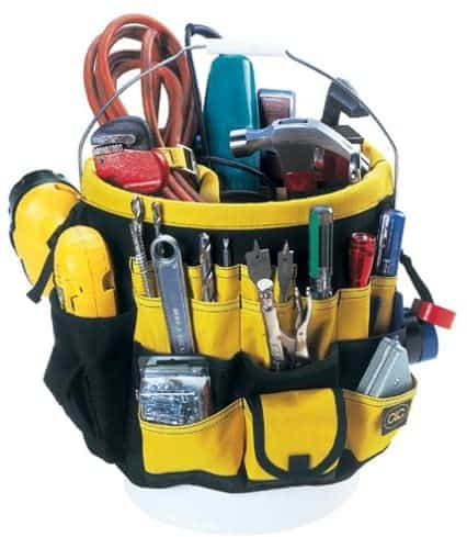 best in and out tool bucket organizer